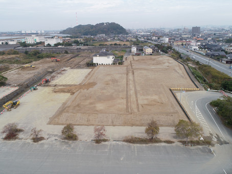 南新地土地区画整理事業整地(7街区外)工事