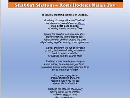 Shabbat Shalom Story