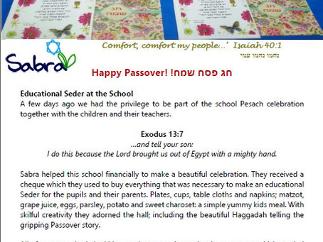 Educational Seder at The School