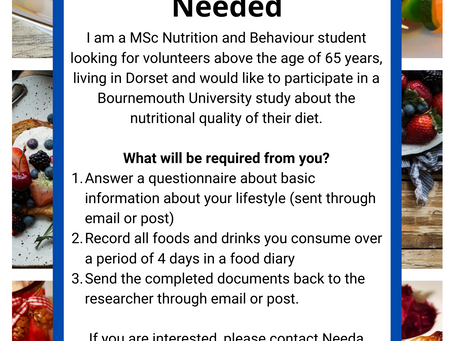 Research Volunteers Needed