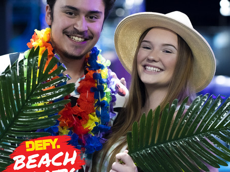 DEFY is throwing a BEACH PARTY!