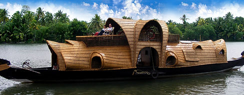 Houseboat, Backwaters of Kerala