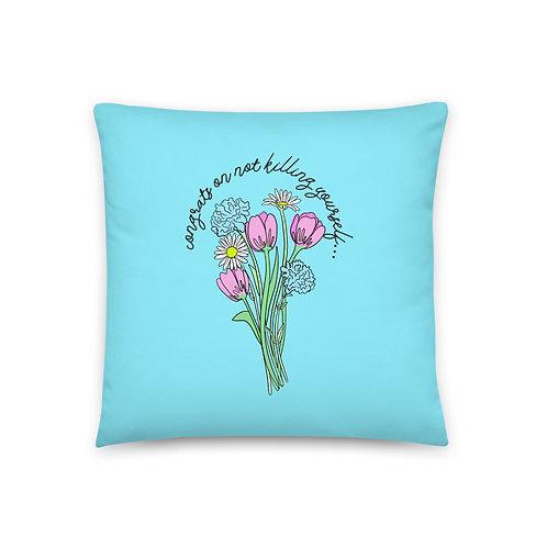 Congrats Pillow