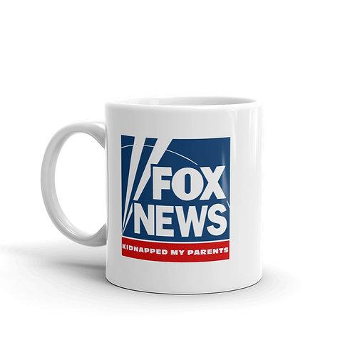 Fox Kidnapped My Parents Mug