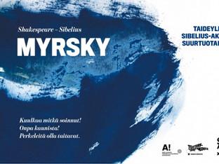 Sibeliuksen Myrsky Musiikkitalossa 21.11.2015