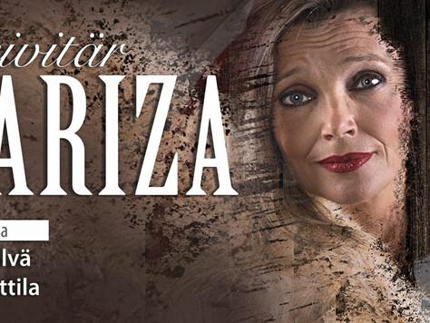 Kreivitän Mariza -operetti kiertueella