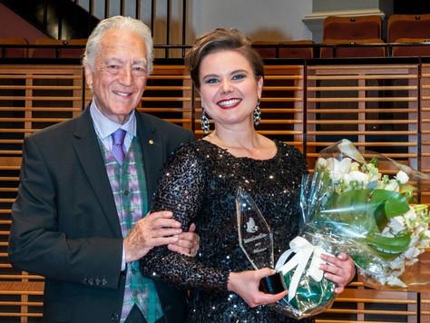 Hannakaisa kansainvälisen Elizabeth Connell Prize -laulukilpailun voittoon Australian Sydneyssä