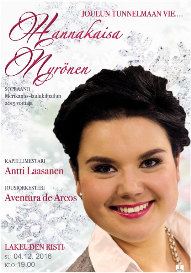 Aventura de Arcos_joulukonserttijuliste