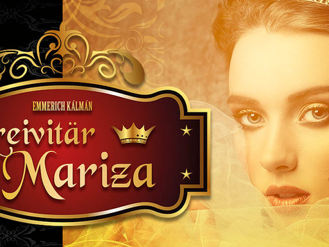 Kreivitär Mariza -operetti joulukuussa Helsingissä ja Kotkassa