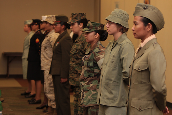 Women active duty Marines