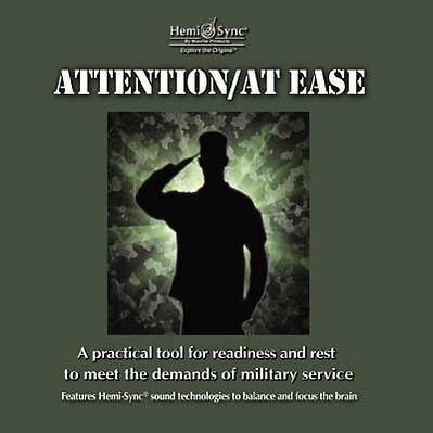 ATTENTION/ AT EASE Hemi-Sync 2 CD set for the military focusing and sleeping
