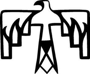 The Thunderbird sends it's lilghtning bolts to heal Mother Earth~Native American Source of The ALL.