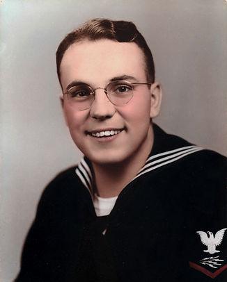 Ken Schar USNR WW II vet(1944)