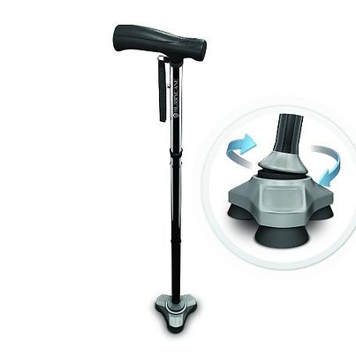 Hurrycane, 3 toed walking cane gives stablization.