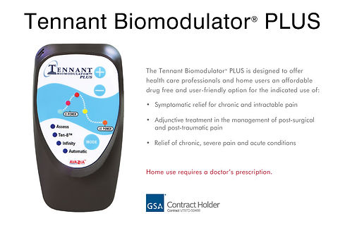 "The Biomodulator ""tricorder"" treats weak meridians, by Tennant."
