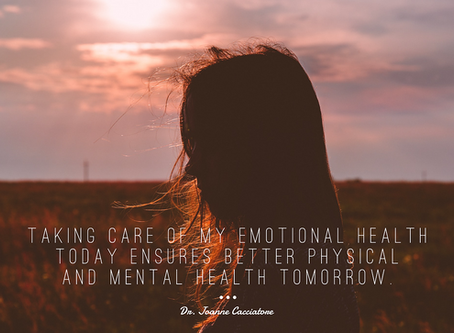 Worried About Mental Health? Then Take Care of Your Emotional Health.
