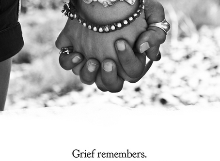 My beloved friend, Grief