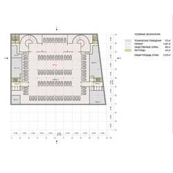 план -2 этажа