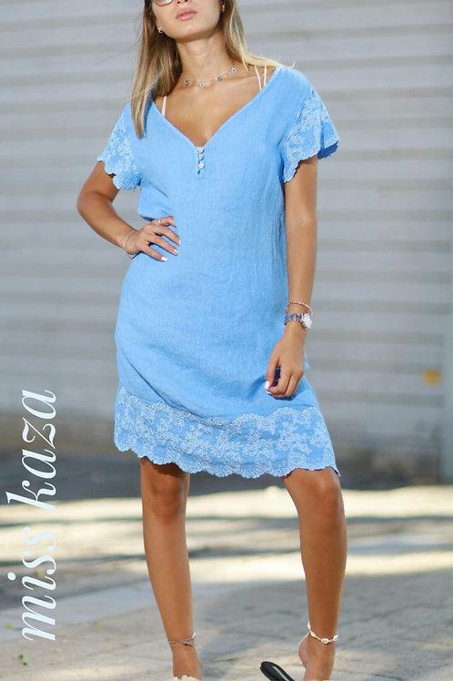 שמלת פשתן ליה