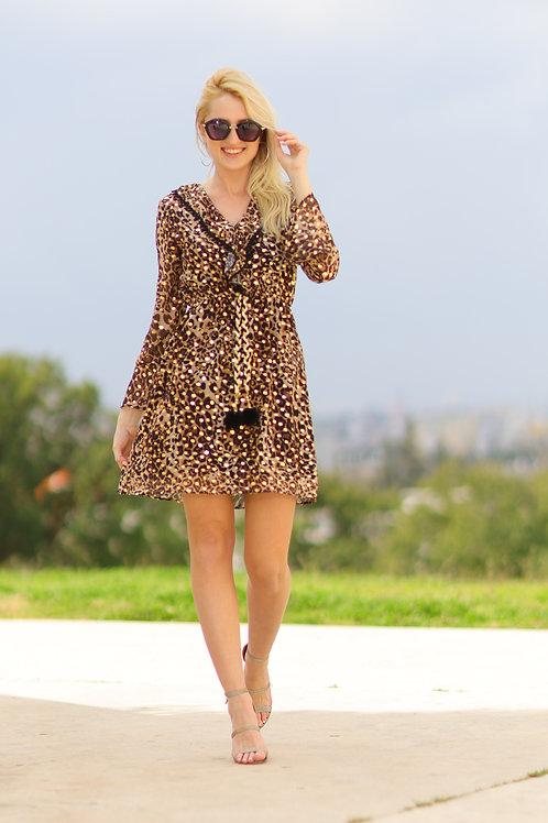 שמלה מנומרת