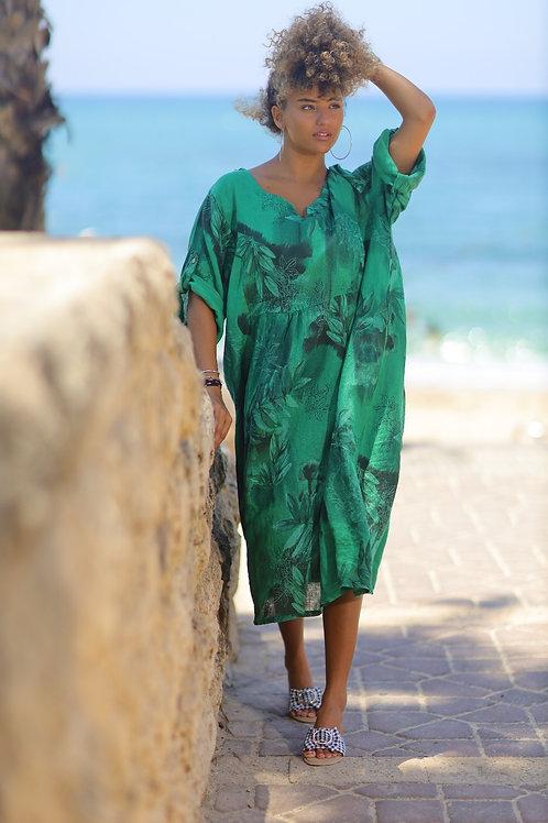 שמלת פשתן מרי בל