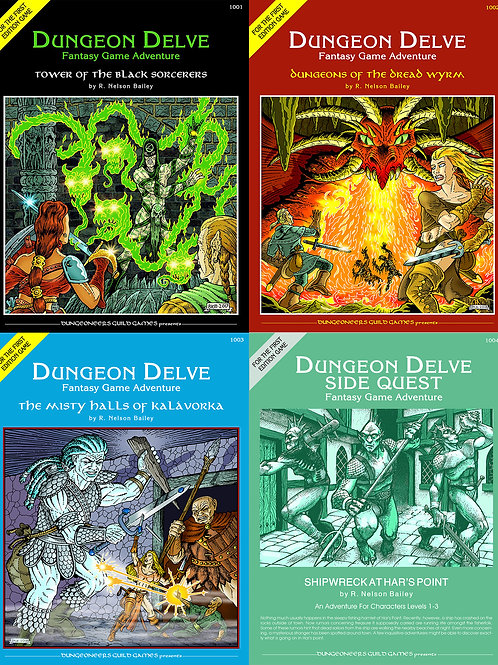 DUNGEON DELVE Print Bundle