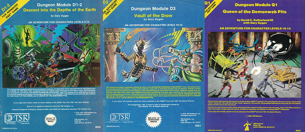 1980 revised covers for D1-2 and D3 plus Q3.