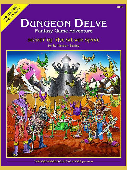 DD4 Secret of the Silver Spire eBook