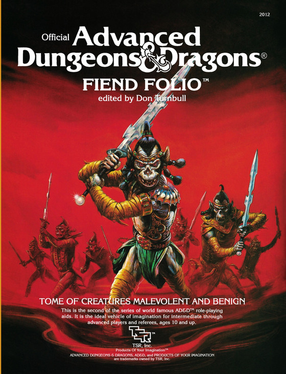 The Mystery of the Missing Fiend Folio Cover