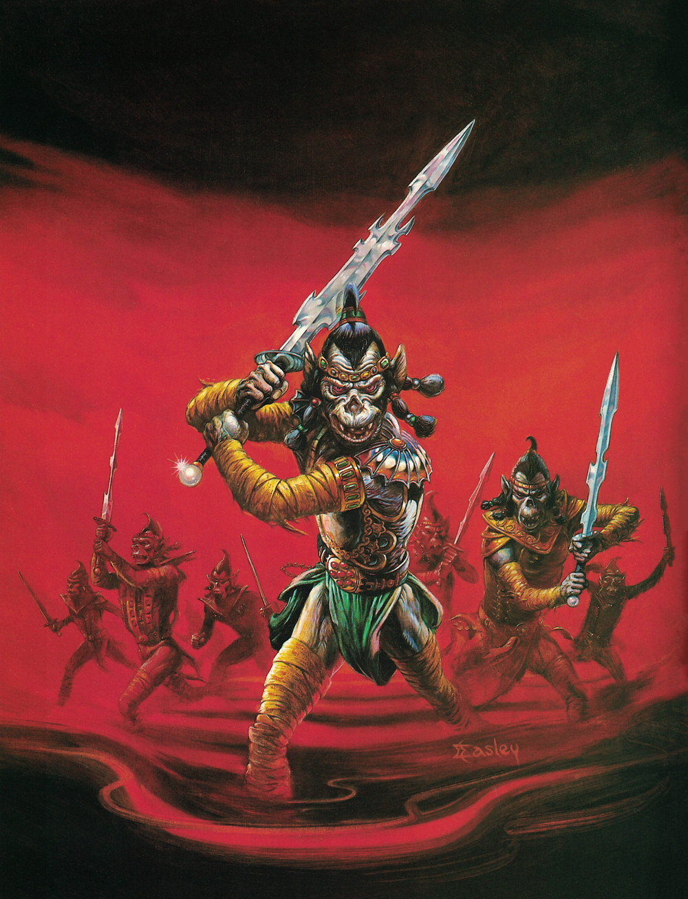 Jeff Easley's updated Fiend Folio cover.