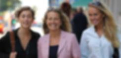 Natalie Bergqvist, Yvonne Ryding och Sandra Bergkvist