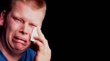 A Single Tear Crawled Down His Cheek