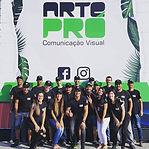 Equipe _arteprocomunicacao unida! Time f