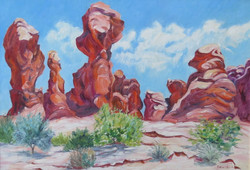Canyonlands Utah by Ronald C Bell