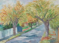 Autumn Trees by Ronald C Bell