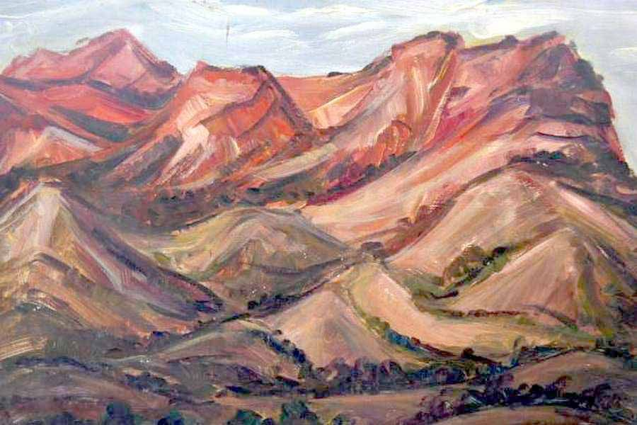 Flinders Ranges by Ronald C Bell