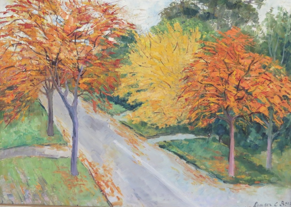 Trees in Autumn by Ronald C Bell
