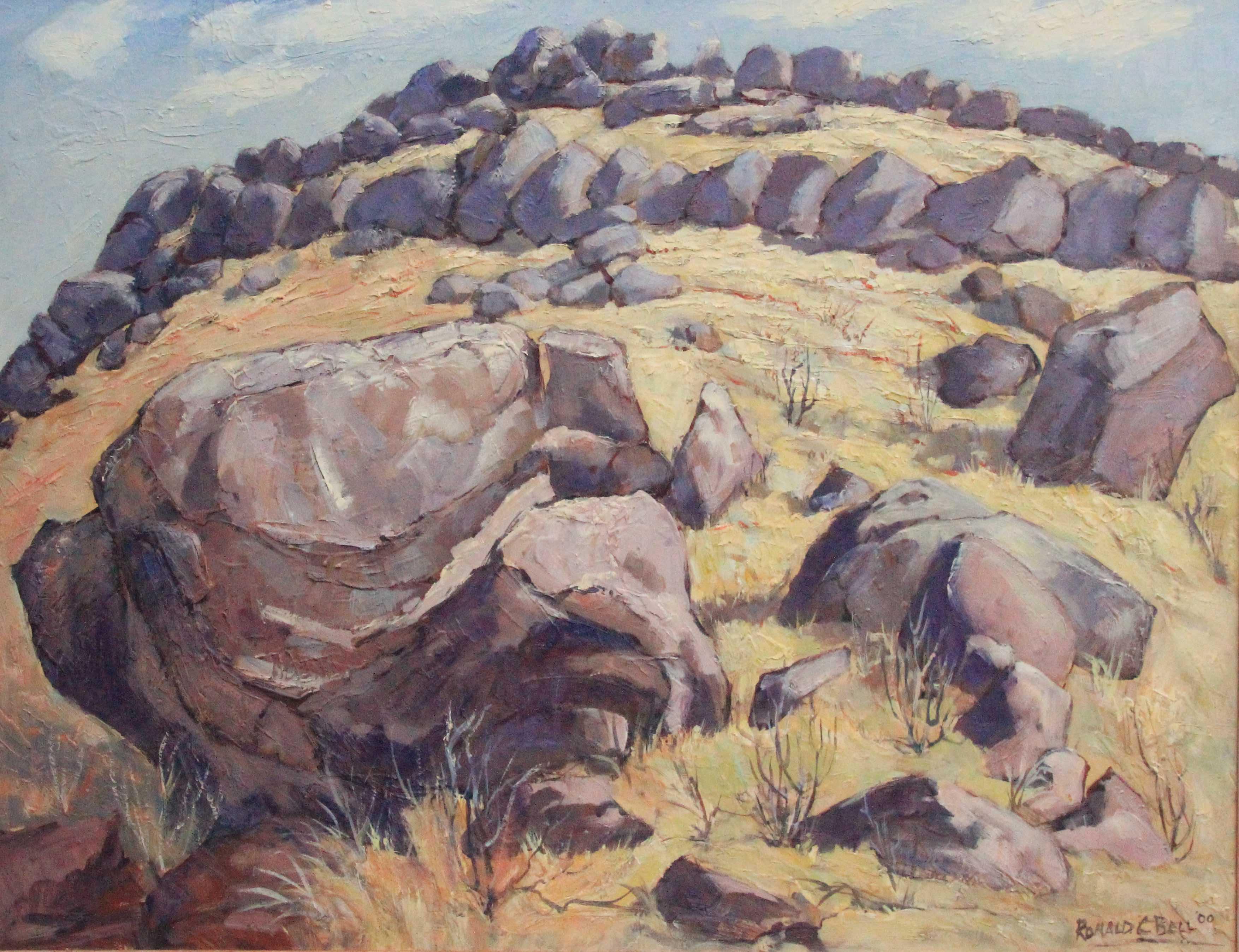 Flinders ranges rocks Ronald C Bell