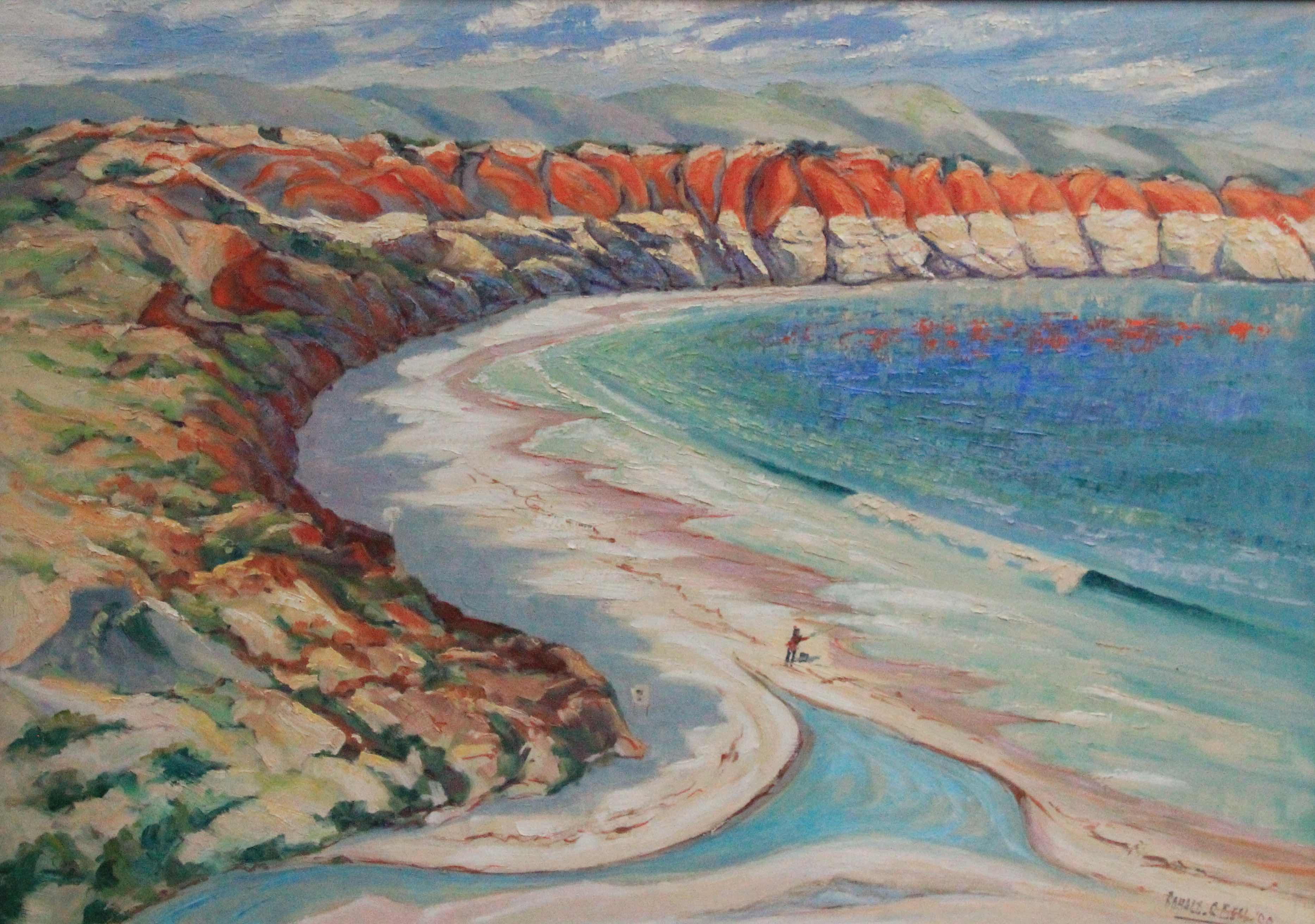 Noarlunga Coast by Ronald C Bell