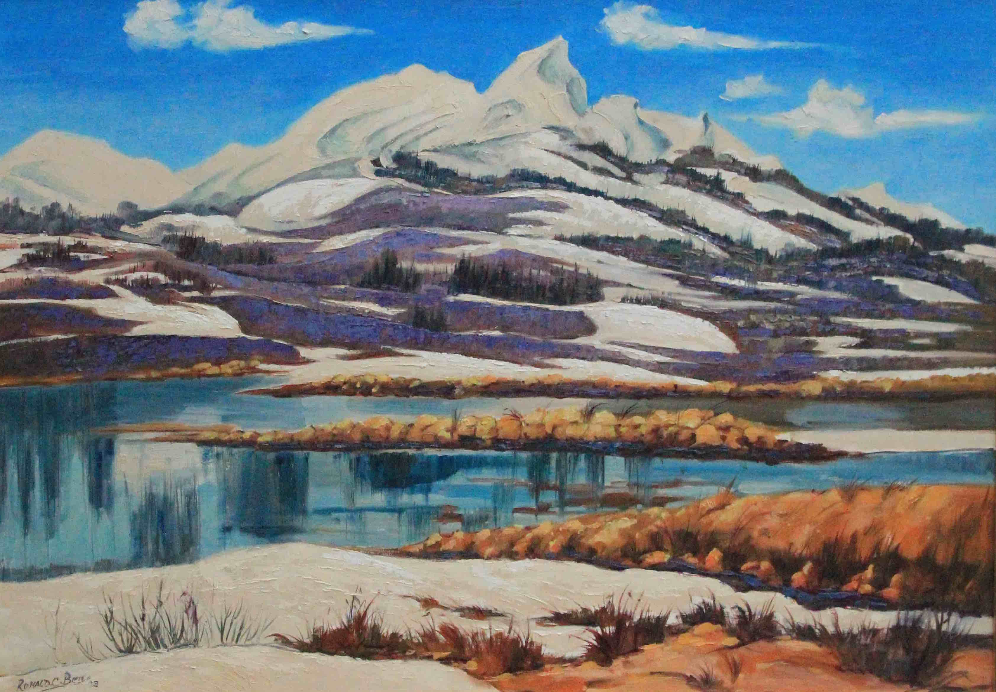 Snow Lake by Ronald C Bell