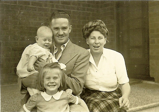 Ronald C Bell & family 1948