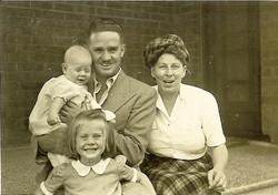 Ronald C Bell & family 1948