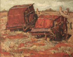 Old Harvesters by Ronald C Bell