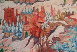 Bryce Canyon by Ronald C Bell