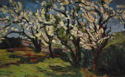 Blossom Trees by Ronald C Bell