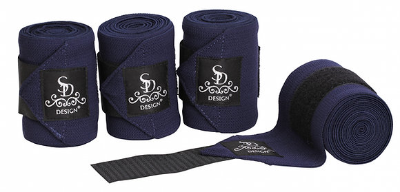 SD Design - Bandes élastiques bleu marine