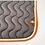 Thumbnail: Silver Crown - Tapis gris, blanc et orange