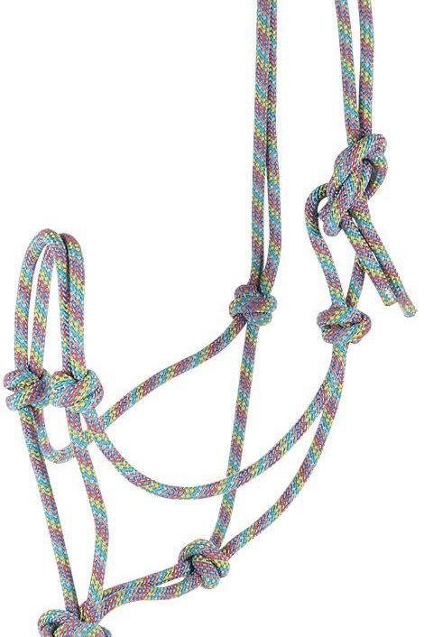 Harry's Horse - Licol en corde rainbow