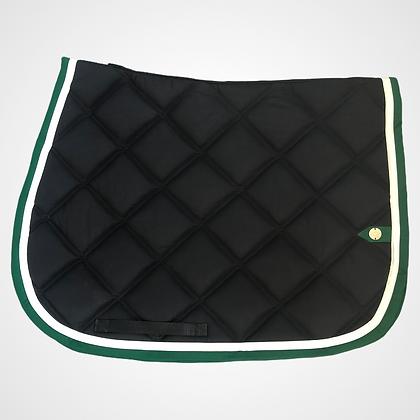 Silver Crown - Tapis noir, blanc et vert