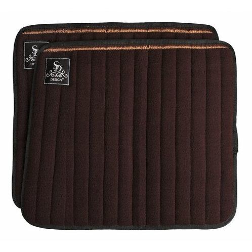SD Design - Flannelles à paillettes marron